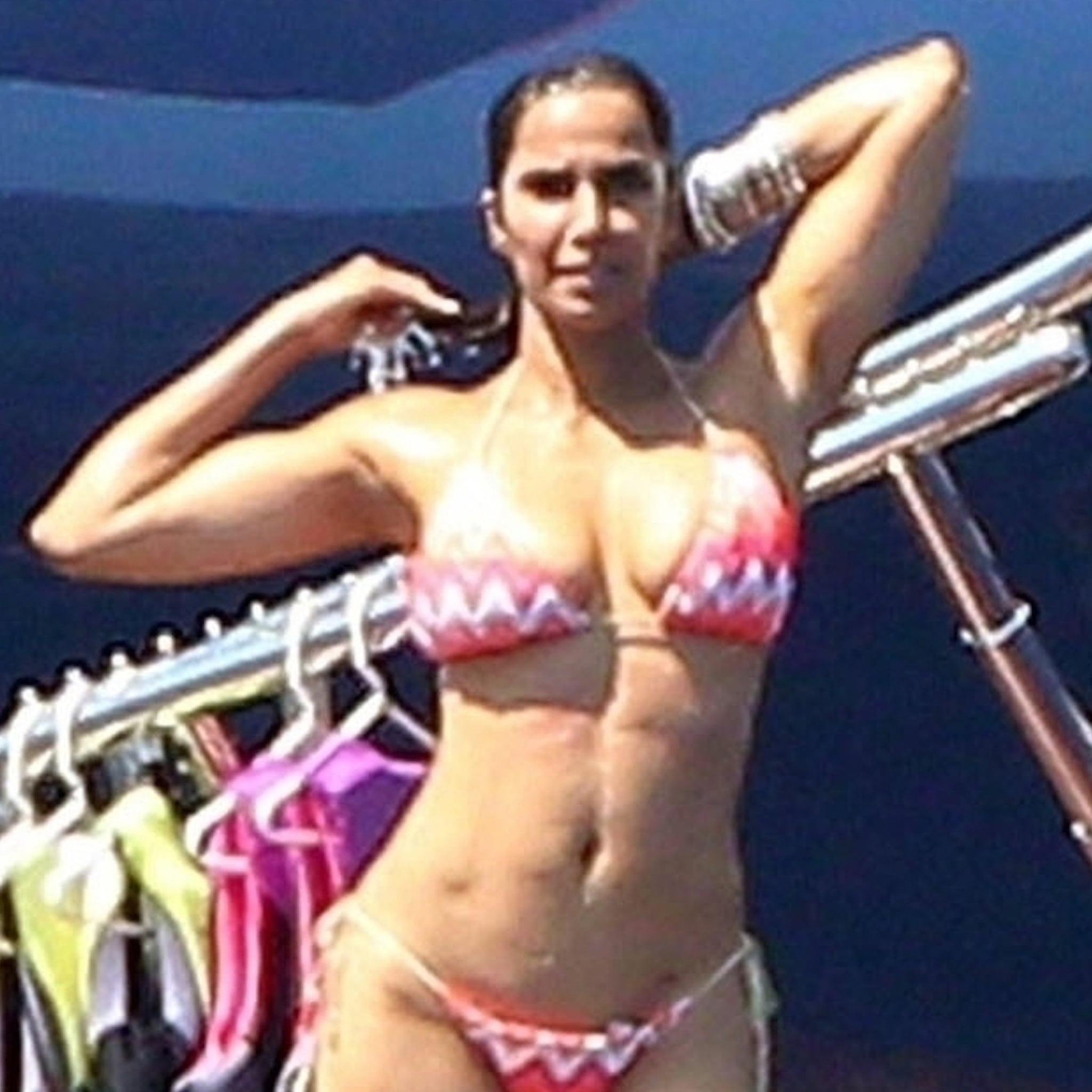 Padma Lakshmi Bikini Pictures In Italy August 2018 Popsugar Celebrity