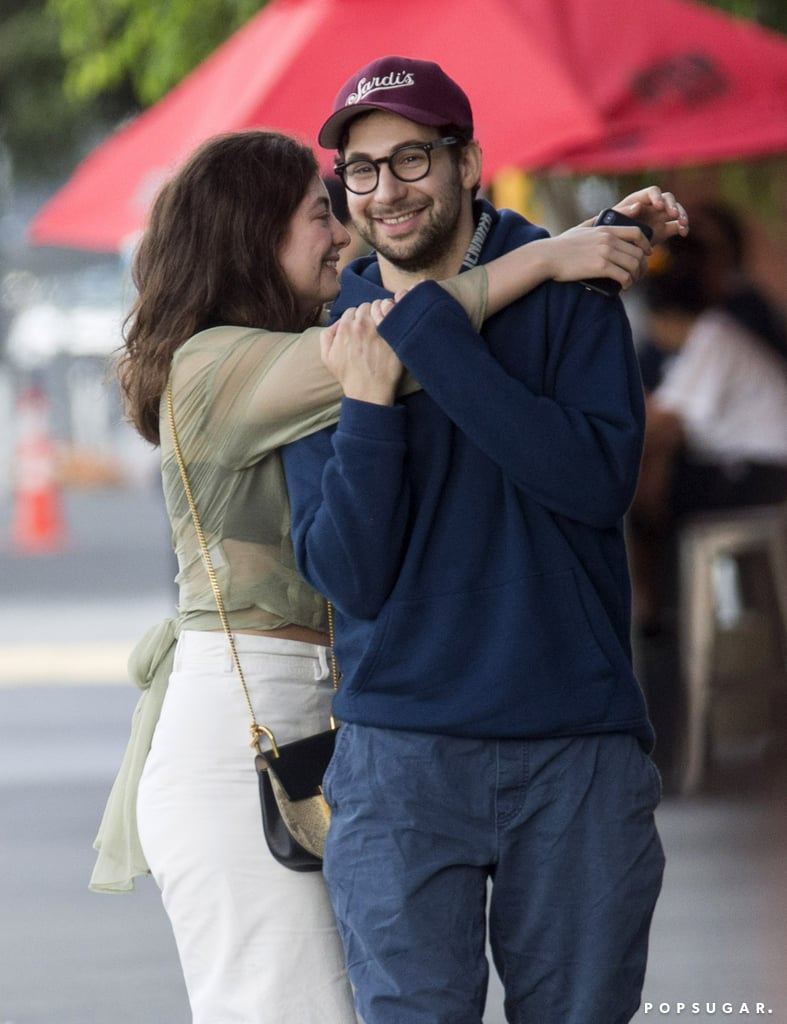 "Lorde and Jack Antonoff were spotted hanging out in her native New Zealand last week. The Melodrama singer was all smiles as she threw her arms around Jack, who produced her Grammy-nominated album, and the two laughed while walking down the street together in Auckland. While Jack and Lorde have been friends and collaborators for years, recent rumors have alluded to the pair possibly being more than just pals. After it was announced that Jack split from his girlfriend of five years, actress and producer Lena Dunham, reports emerged that the Bleachers frontman had struck up a relationship with Lorde. Jack denied the rumors, tweeting that he is ""not seeing anyone,"" but the two did attend the Grammys together and appeared to be ""very much like a couple"" at Clive Davis's annual preparty. Keep reading to see their day out."