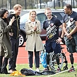 Prince Harry and Meghan Markle in Bath April 2018