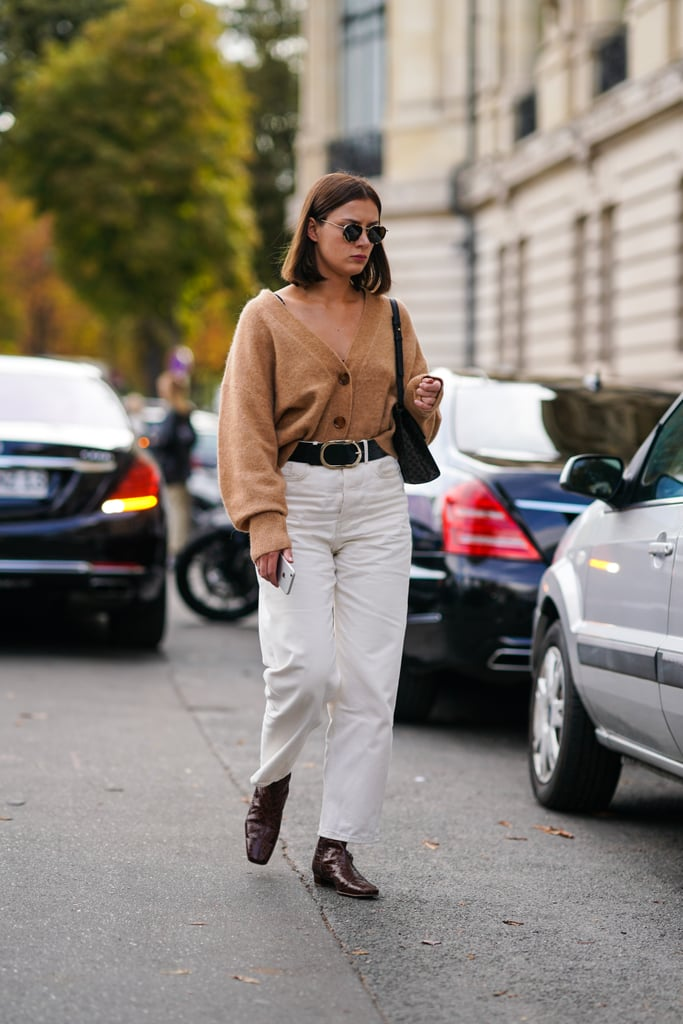 There is nothing we love more than a simple cardigan, tucked into the top of a pair of pants, for an effortlessly chic Fall uniform.