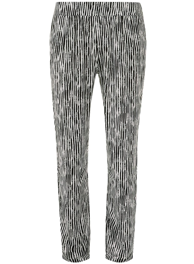 If printed pants feel too bold for your office, hear us out: wear this pair ($39) with a sharp black blazer and pumps and you'll be the standout employee.