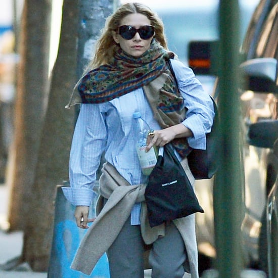 Ashley Olsen's White Loafers