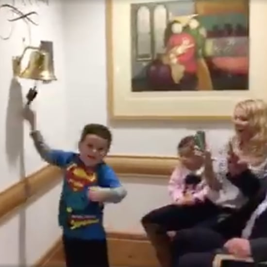 Little Boy Celebrates the End of His Chemotherapy