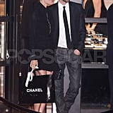 "Kate Bosworth with her ""life partner"" Michael Polish."