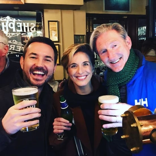 Pictures of the Cast of Line of Duty Hanging Out