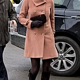 On March 15 2013, Kate joined Prince William to visit the Cheltenham Festival in London.