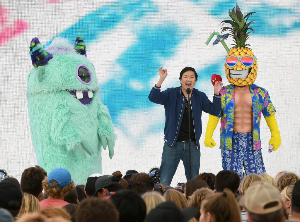 Ken Jeong at the Teen Choice Awards 2019