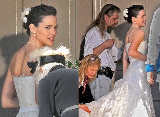 Jennifer Garner on the Set of Ghosts of Girlfriends Past