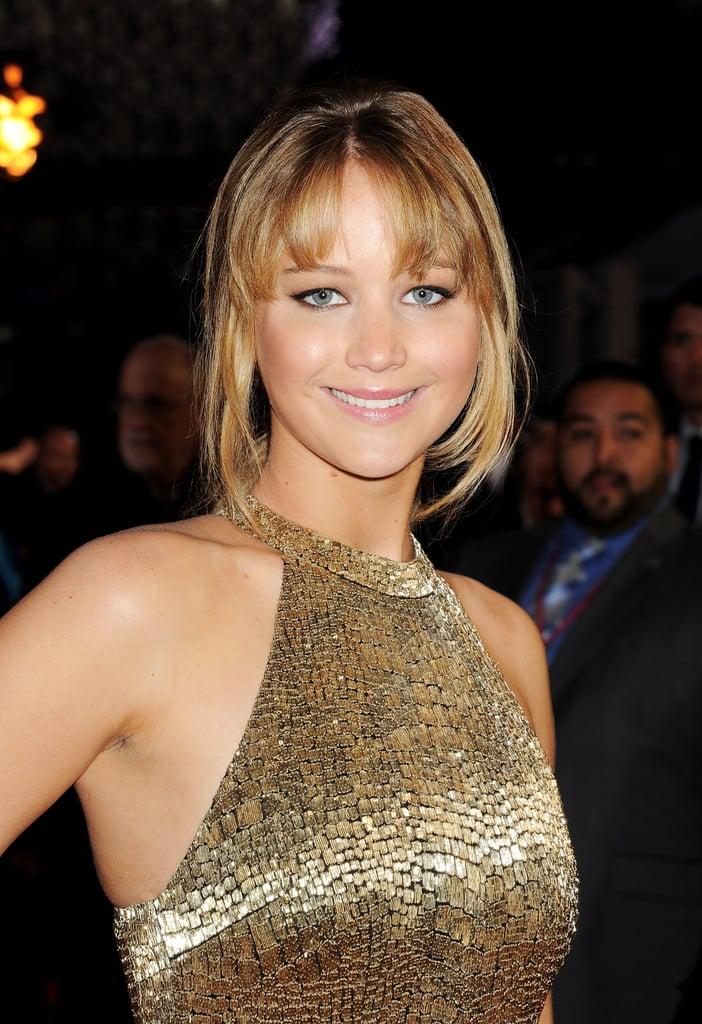 Jennifer Lawrence With Bangs