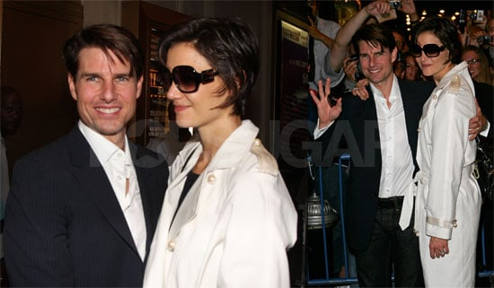 Photos of Tom Cruise and Katie Holmes After Her Dress Rehearsal for All My Sons in NYC