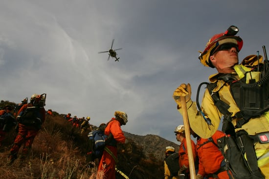 Sound the Alarm! California's Prisoners Help Fight Wild Fires