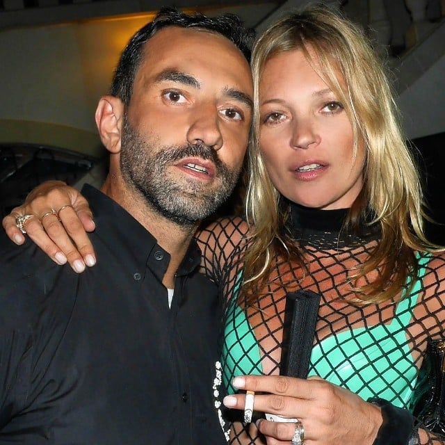 Riccardo Tisci and Kate Moss