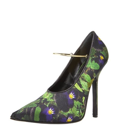 Givenchy Pansy-Print Satin Pump ($740)