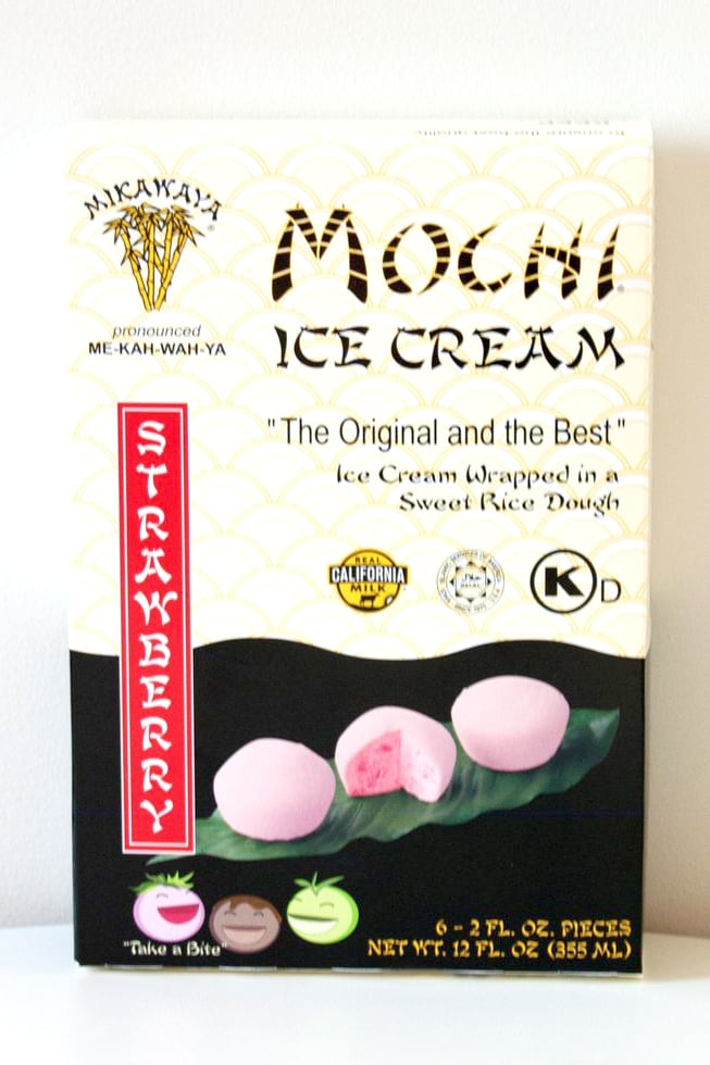 Strawberry Mochi Ice Cream ($4)