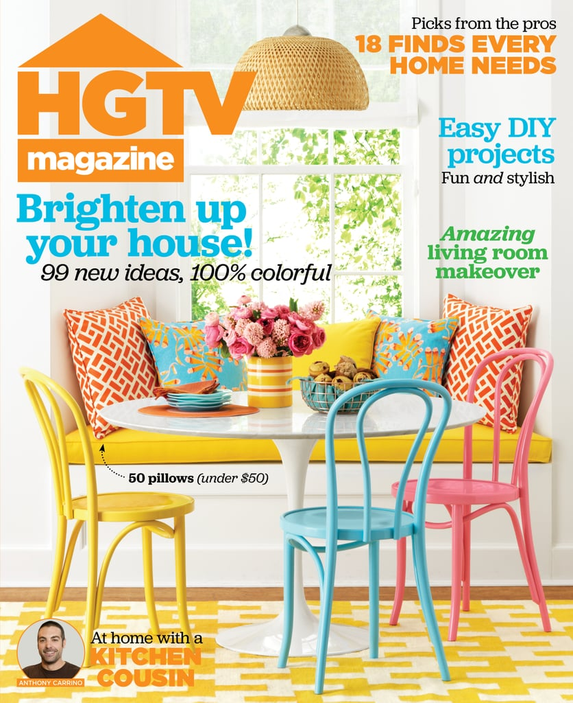 For more photos of Anthony's loft, check out HGTV magazine