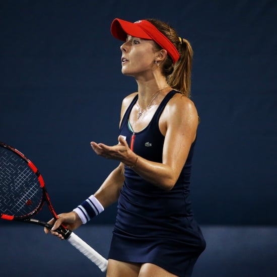 Tennis Player Alizé Cornet Dress Code Violation 2018 US Open
