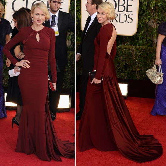 Best Globes Of The Golden Globes: Pics Of Naomi Watts In Zac Posen At The 2013 Golden Globes