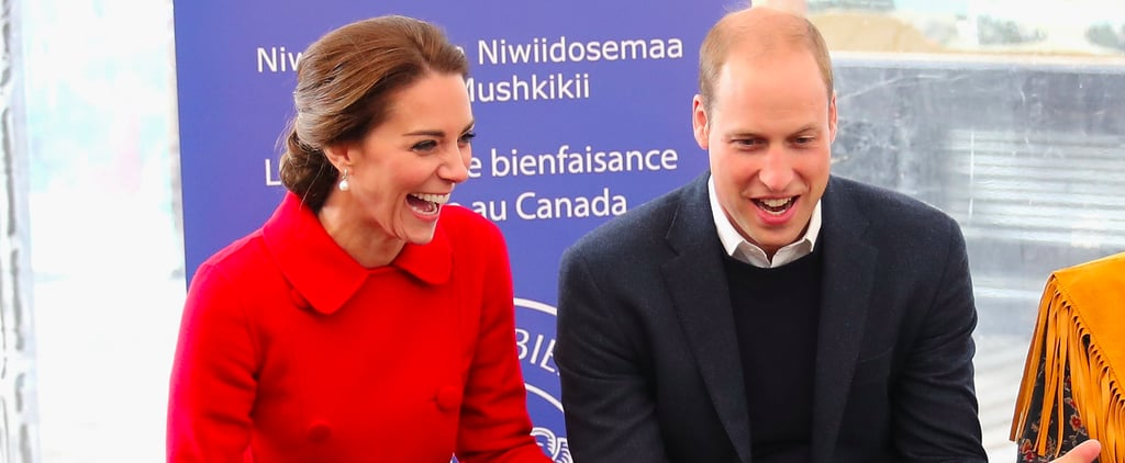 The Duke and Duchess of Cambridge Read Stories to Children During Their Canadian Tour