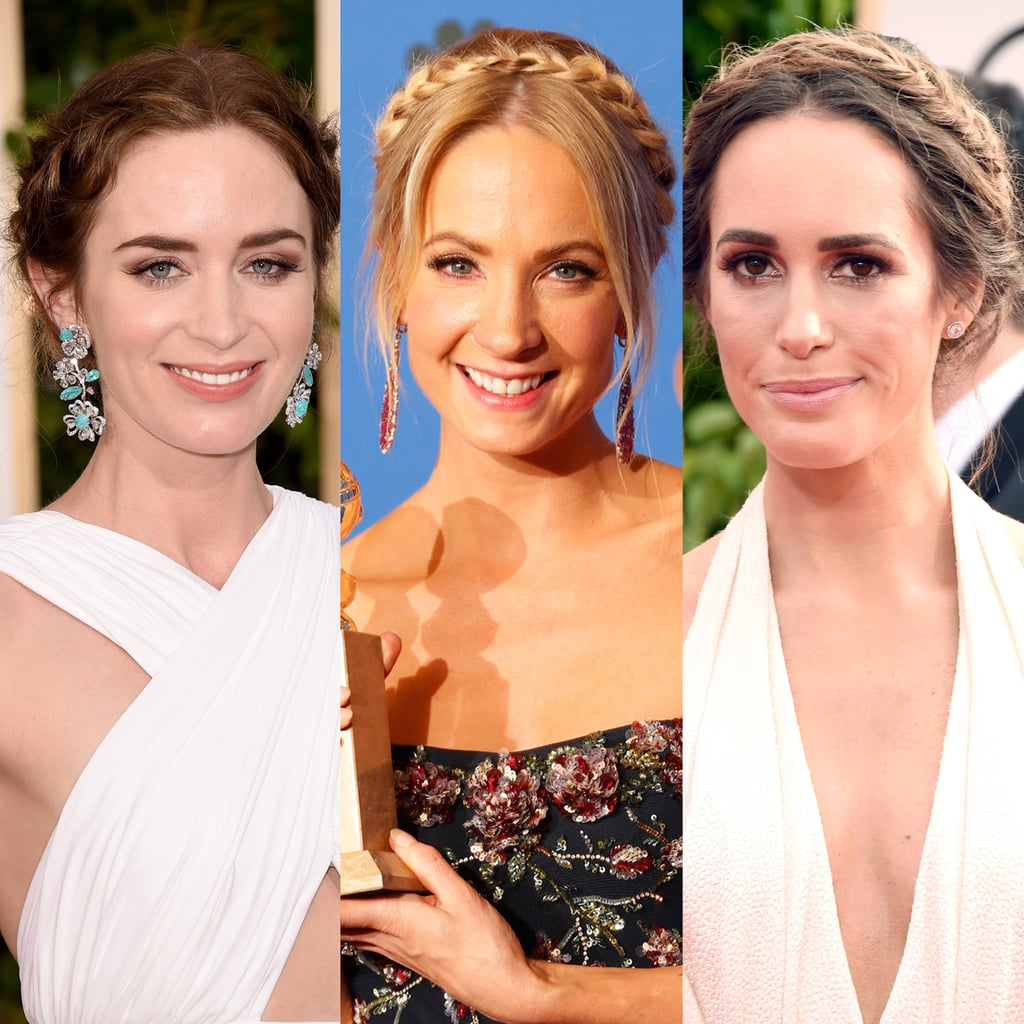 The Best Plaits at the Golden Globe Awards