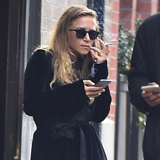 Mary-Kate Olsen Smoking in NYC December 2015 | Pictures