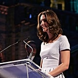 Kate Middleton at the Natural History Museum in London 2017