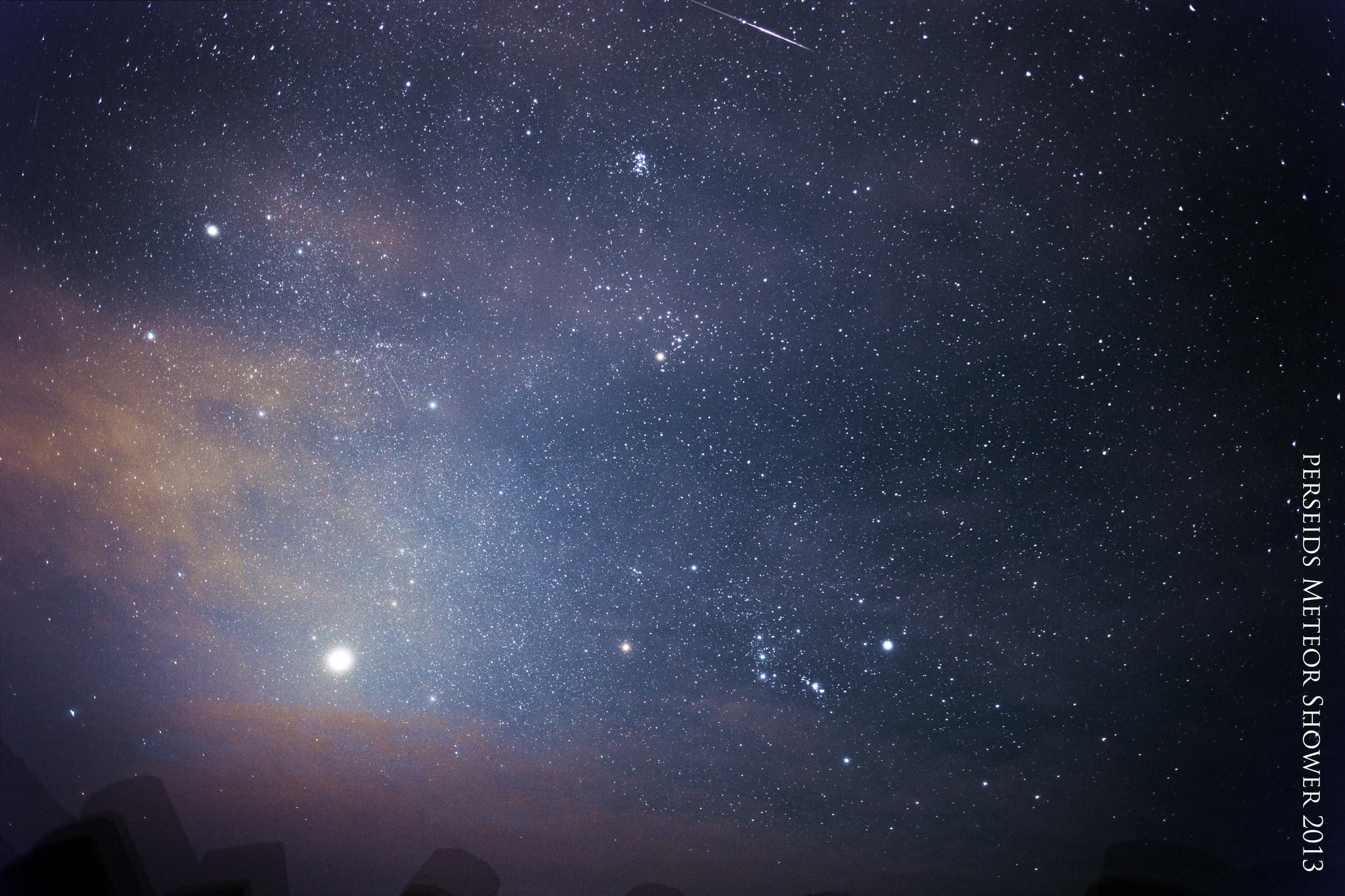 Perseid meteor shower is the pre-show to the eclipse