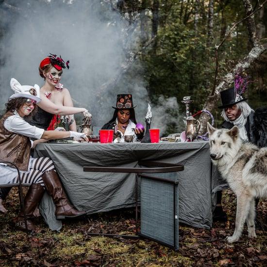 Alice in Wonderland Halloween Photo Shoot