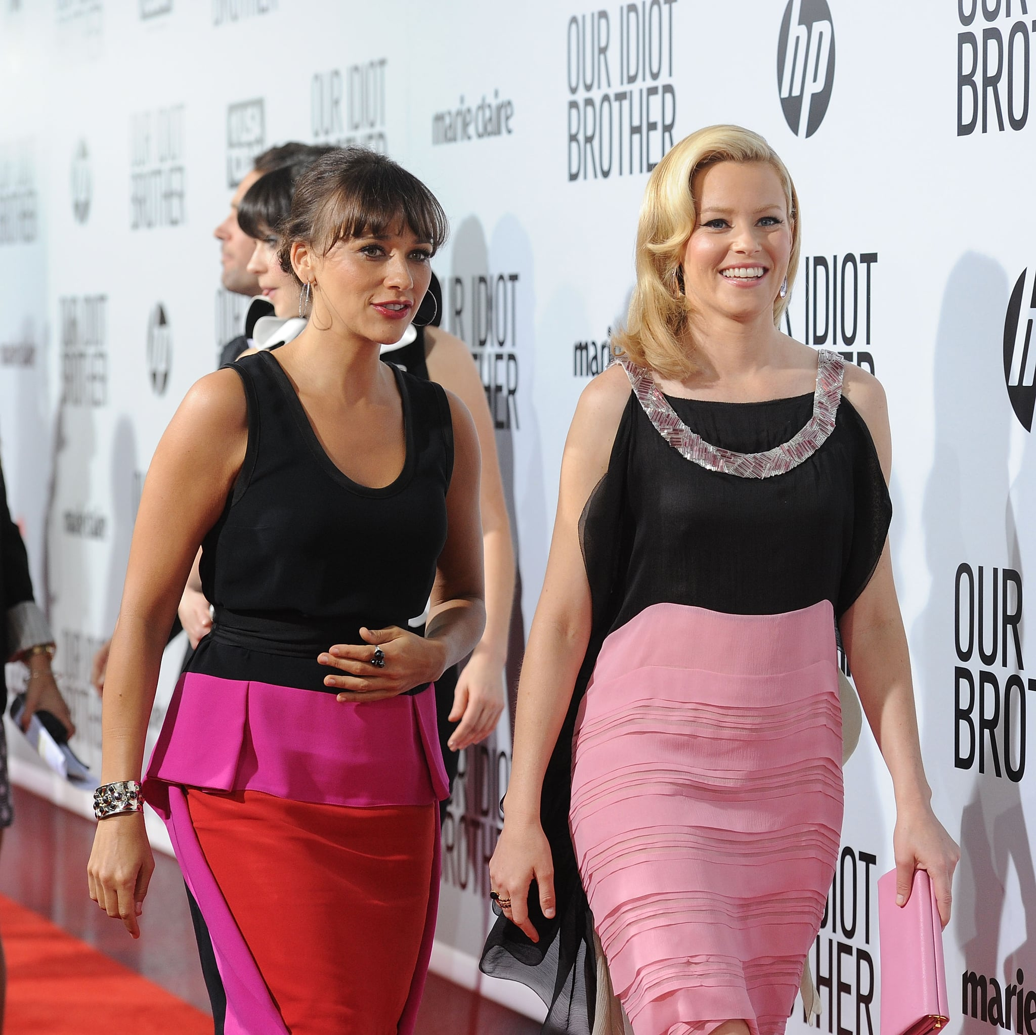 Rashida Jones and Elizabeth Banks