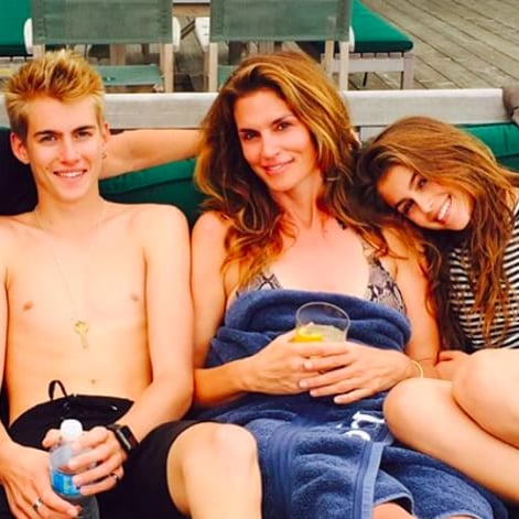 Cindy Crawford Shares Family Pictures From Summer Vacation