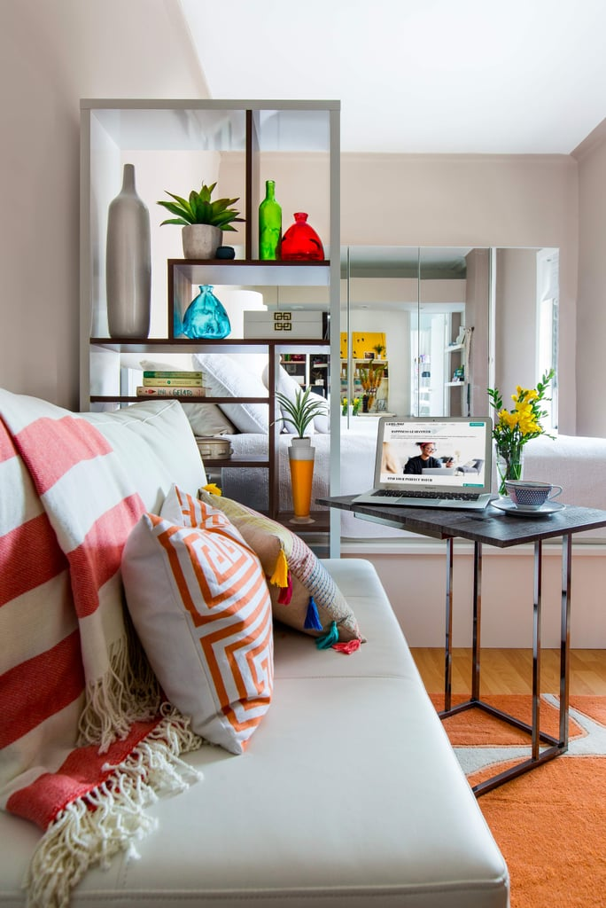 How to Decorate With Color in a Studio Apartment