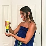 Step 2: Scrunch Your Hair With Gel