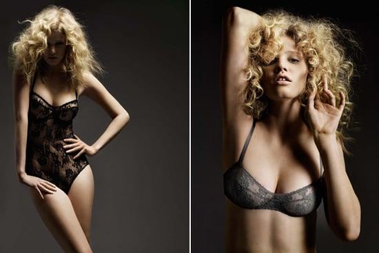 Lara Stone for Eres lingerie 2
