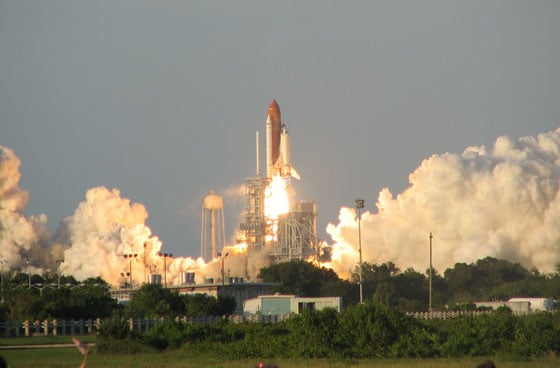 Atlantis Launch Viewing