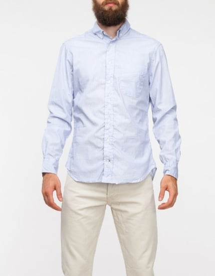 Pencil Stripe Oxford