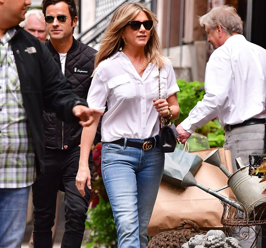 Jennifer Aniston Bag Style