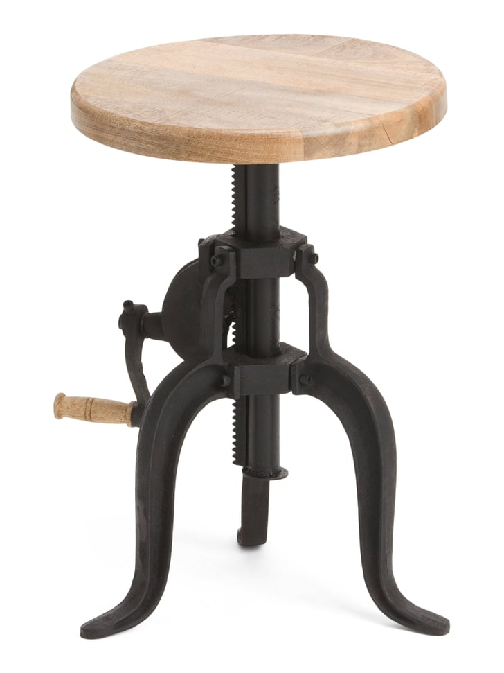 Adjustable Crank Accent Table | Best Small-Space Furniture ...