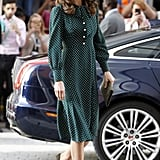 Kate Middleton Polka Dot Dress December 2018