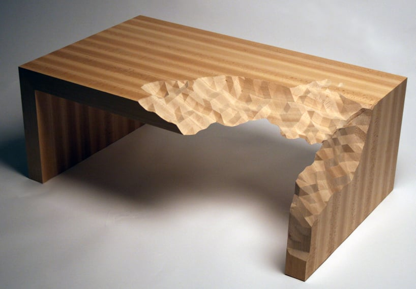 The Information Ate My Table by Zachary Eastwood-Bloom combines social commentary with an undeniably compelling design.