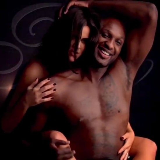 Khloe Kardashian And Lamar Odom Get Naked For Fragrance Commercial  110100 Popsugar Beauty