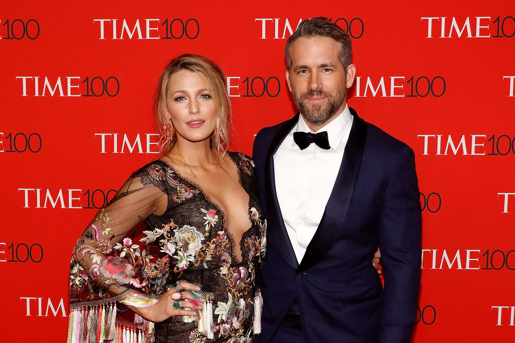 NEW YORK, NY - APRIL 25:  Blake Lively and Ryan Reynolds attend the 2017 Time 100 Gala at Jazz at Lincoln centre on April 25, 2017 in New York City.  (Photo by Taylor Hill/FilmMagic)