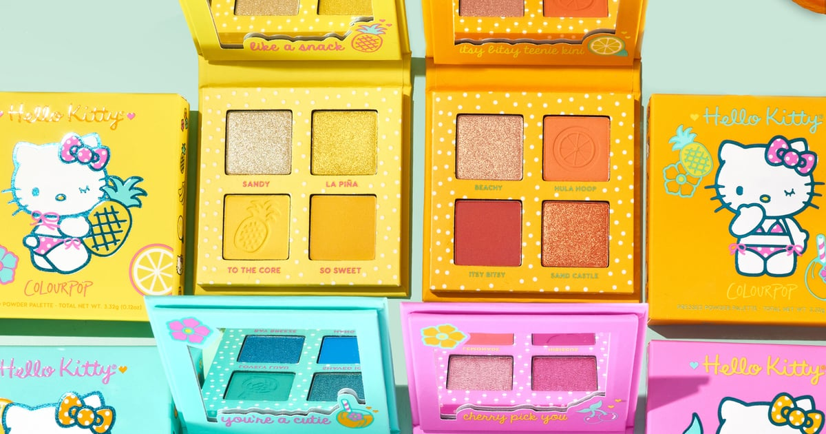 ColourPop's New Tropical Hello Kitty Collection Is Reminding Me I Need a Vacation