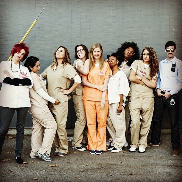 Diy Halloween Costume Orange Is The New Black Popsugar Love Sex