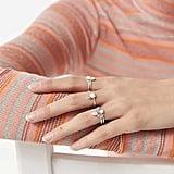 Callista Opal Ring Set