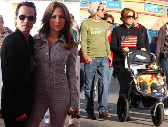 Photos of Jennifer Lopez And Marc Anthony in Miami With Kids Max and Emme