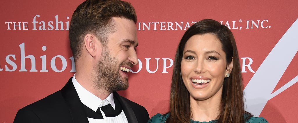 Justin Timberlake and Jessica Biel Share a Sweet Moment on the Red Carpet