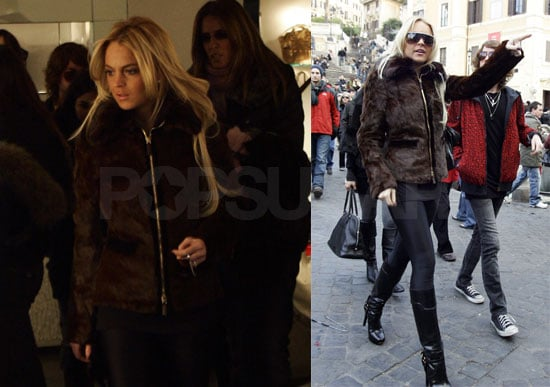 Lindsay's Still Living Large in Italy