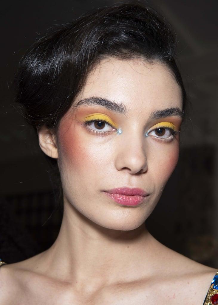 Haute Couture Smoky Eyes at Rixo Fall 2020