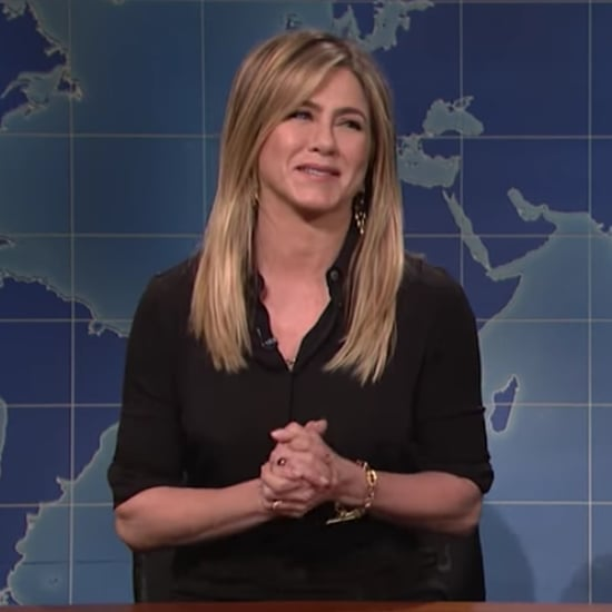 Jennifer Aniston Rachel Green Impression on SNL 2016