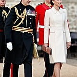 Kate Middleton's Cream Catherine Walker Coat 2019
