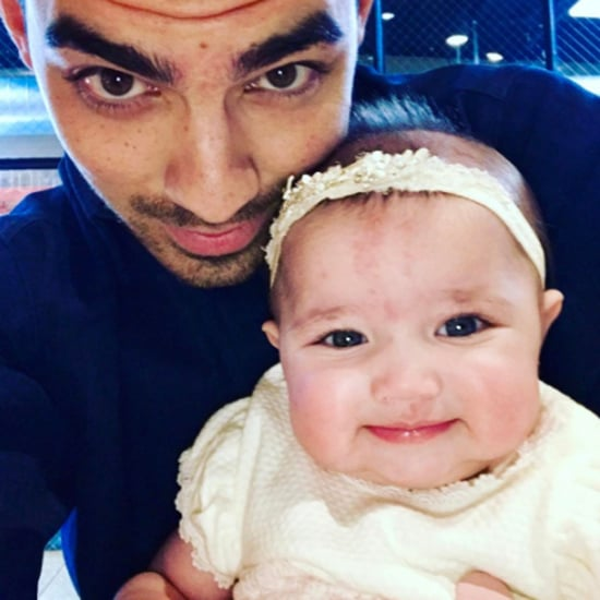 Joe Jonas Selfie With His Niece May 2017